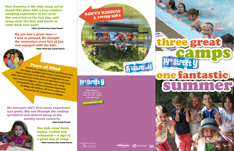 GEORGIA RUCKER DESIGN • brochures, flyers, newsletters